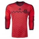 Maillot De Foot 2014/2015 Mexique Exterieur Manche Longue Coupe Du Monde