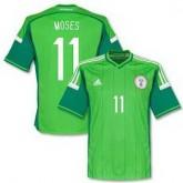 Maillot De Foot 2014/2015 Nigeria Domicile Coupe Du Monde (11 Moses) France