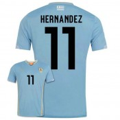 Maillot De Foot 2014/2015 Uruguay Domicile Coupe Du Monde (11 Hernandez) Hot Sale