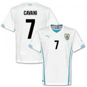 Maillot De Foot 2014/2015 Uruguay Exterieur Coupe Du Monde (7 Cavani) Site Francais