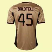 Maillot De Foot Ac Milan (Balotelli 45) 2014-2015 3rd Adidas