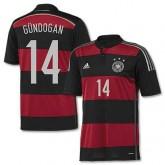 Maillot De Foot Allemagne Exterieur Coupe Du Monde 2014 (14 Gundogan)