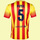 Maillot De Foot Barcelone (Carles Puyol 5) 2014-2015 Extérieur Nike Marseille