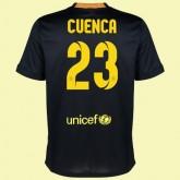 Maillot De Foot Barcelone (Isaac Cuenca 23) 2014-2015 3rd Nike Avignon