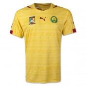 Maillot De Foot Cameroun 2014 Coupe Du Monde Exterieur Original