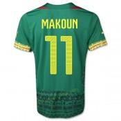 Maillot De Foot Cameroun 2014 Coupe Du Monde Makoun Domicile Paris