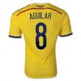 Maillot De Foot Colombie Domicile Coupe Du Monde 2014 (8 Aguilar) Original