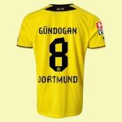 Maillot De Foot Dortmund (Gundogan 8) 2014-2015 Domicile Puma Magasin Lyon