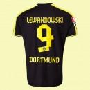 Maillot De Foot Dortmund (Lewandowski 9) 2015/16 Extérieur Puma Escompte