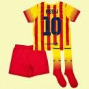 Maillot De Foot Enfant Fc Barcelone (Lionel Messi 10) 2015/16 Extérieur Nike Personnaliser Magasin Paris