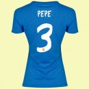 Maillot De Foot Femme Fc Real Madrid (Pepe 3) 2015/16 Extérieur Adidas Officiel
