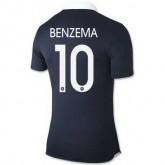 Maillot De Foot France Domicile Coupe Du Monde 2014 (10 Benzema)