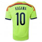 Maillot De Foot Japon 2014 Coupe Du Monde Kagawa Exterieur