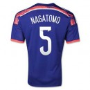 Maillot De Foot Japon Domicile Coupe Du Monde 2014 (5 Nagatomo)