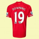 Maillot De Foot Liverpool (Downing 19) 2014-2015 Domicile
