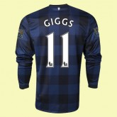 Maillot De Foot Manches Longues Manchester United (Giggs 11) 15/16 Extérieur