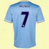 Maillot De Foot Manchester City (Milner 7) 2015/16 Domicile Fiable Marseille
