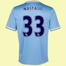 Maillot De Foot Manchester City (Nastasic 33) 2014-2015 Domicile Nike Avignon