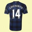 Maillot De Foot Manchester United (Chicharito 14) 2015/16 Extérieur Fiable