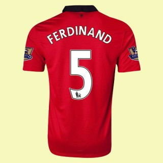 Maillot De Foot Manchester United (Ferdinand 5) 2014-2015 Domicile Nike