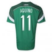 Maillot De Foot Mexique Domicile Coupe Du Monde 2014 (11 Aquino)