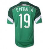 Maillot De Foot Mexique Domicile Coupe Du Monde 2014 (19 O.Peralta)
