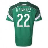 Maillot De Foot Mexique Domicile Coupe Du Monde 2014 (22 R.Jimenez)