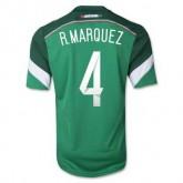 Maillot De Foot Mexique Domicile Coupe Du Monde 2014 (4 R.Marquez)