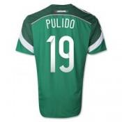 Maillot De Foot Mexique Exterieur Coupe Du Monde 2014 (19 Pulido)