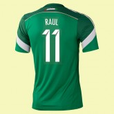Maillot De Foot Mexique (Raul 11) 2014 World Cup Domicile Adidas