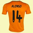 Maillot De Foot Real Madrid (Alonso 14) 2014-2015 3rd Adidas Vente Privee