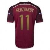 Maillot De Foot Russie Domicile Coupe Du Monde 2014 (11 Kerzhakov) Magasin Paris