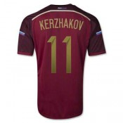 Maillot De Foot Russie Domicile Coupe Du Monde 2014 (11 Kerzhakov) Magasin Paris