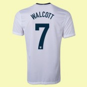 Maillot De Football Angleterre (Walcott 7) 2014-2015 Domicile Nike Officiel Pas Cher France
