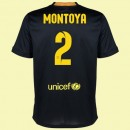 Maillot De Football Barcelone (Martin Montoya 2) 2014-2015 3rd Nike Soldes Paris