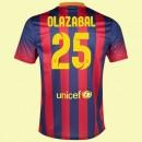 Maillot De Football Barcelone (Olazábal 25) 2014-2015 Domicile Nike Pas Cher Nice