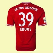 Maillot De Football Bayern Munich (Kroos 39) 2014-2015 Domicile Adidas Hot Sale