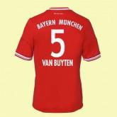 Maillot De Football Bayern Munich (Van Buyten 5) 2014-2015 Domicile Adidas Pas Cher Paris