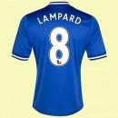 Maillot De Football Chelsea (Lampard 8) 2015/16 Domicile Soldes Paris