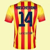Maillot De Football Fc Barcelone (Javier Mascherano 14) 2014-2015 Extérieur Nike Soldes Lyon