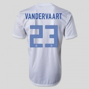 Maillot De Football Hollande (Vandervaart 23) 2014-2015 Extérieur Site Officiel France