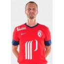 Maillot De Football Lille Osc (David Rozehnal 22) 2014-2015 Domicile Nike Authentique