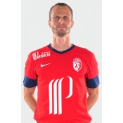 Maillot De Football Lille Osc (David Rozehnal 22) 2014-2015 Domicile Nike Authentique