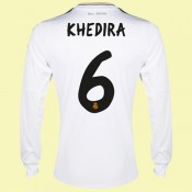 Maillot De Football Manches Longues Fc Real Madrid (Khedira 6) 2015/16 Domicile Nice