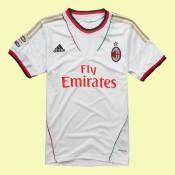 Maillot De Football Milan Ac 2014-2015 Extérieur Adidas Soldes Marseille