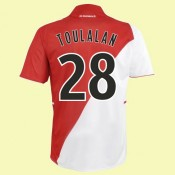 Maillot De Football Monaco (Toulalan 28) 2014-2015 Domicile