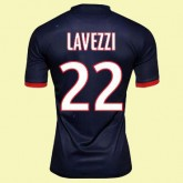 Maillot De Football Paris Saint- Germain (Lavezzi 22) 2014-2015 Domicile Nike Shop France