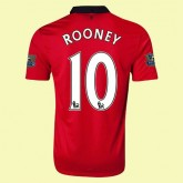 Maillot De Manchester United (Rooney 10) 2014-2015 Domicile Nike