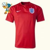 Maillot Du Foot Angleterre 2013-14 Coupe Du Monde Exterieur