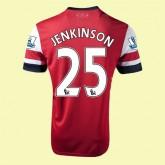 Maillot Du Foot Arsenal (Jenkinson 25) 2015/16 Domicile Nike